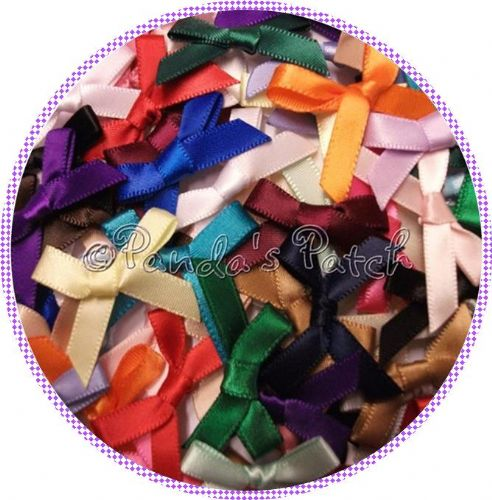 7mm Satin Ribbon Bows